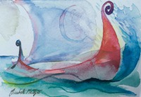 The Voyage by Elizabeth Martyn Artist Water Colour Art Classes
